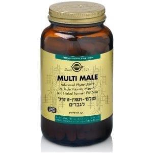מולטי מייל - מולטי ויטמין לגבר Multi Male