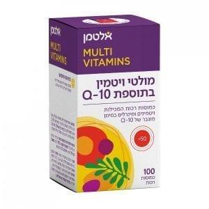 מולטי ויטמין בתוספת קיו 10